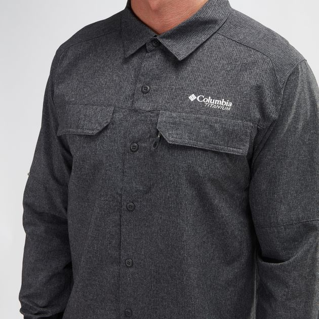 aaec6faf458 Shop Grey Columbia Irico™ Long Sleeve Shirt for Mens by Columbia - 6 ...