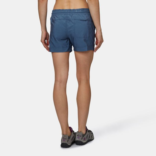7ebb6d06472 Shop Blue Columbia Pilsner Peak™ Pull On Shorts for Womens by ...