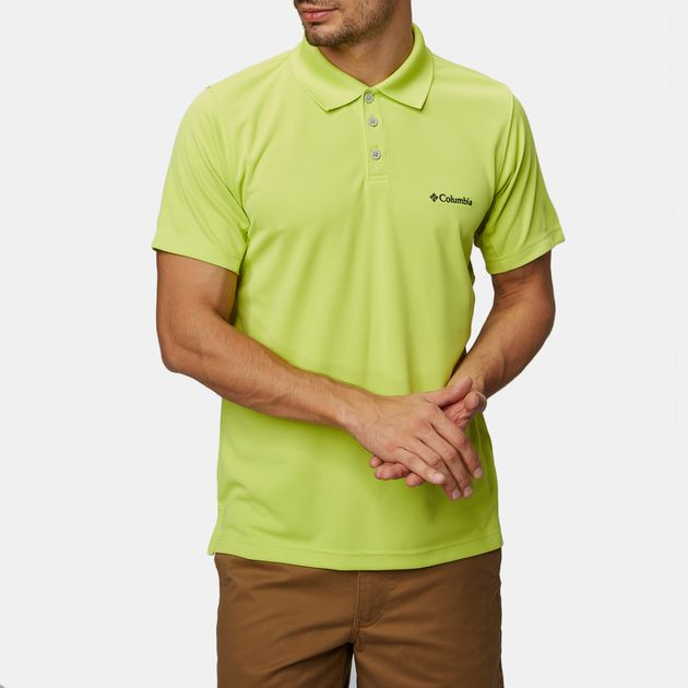 2773ba98 Shop Yellow Columbia New Utilizer™ Polo T-Shirt for Mens by Columbia ...