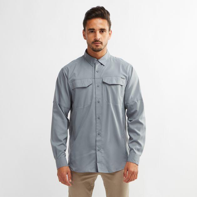 51941670548 Shop Grey Columbia Silver Ridge Lite™ Long Sleeve Shirt for Mens by ...