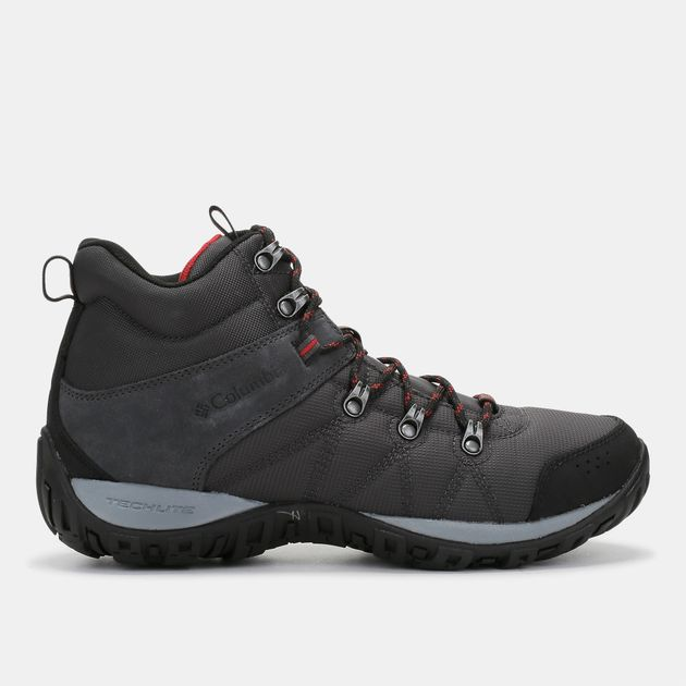 Shop Red Columbia Peakfreak Venture Mid Waterproof Omni-Heat Boot ... a9c5ff4bc7
