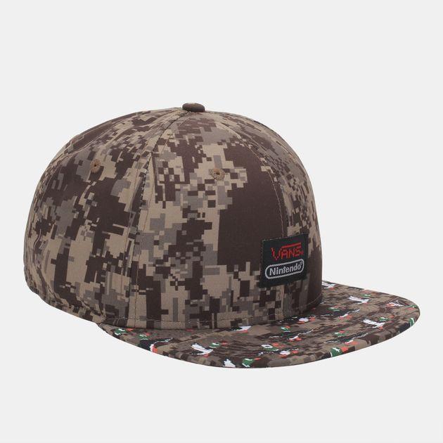 2d6b8a34c18 Shop Green Vans Duck Hunt™ Snapback Cap for Mens by Please select a ...