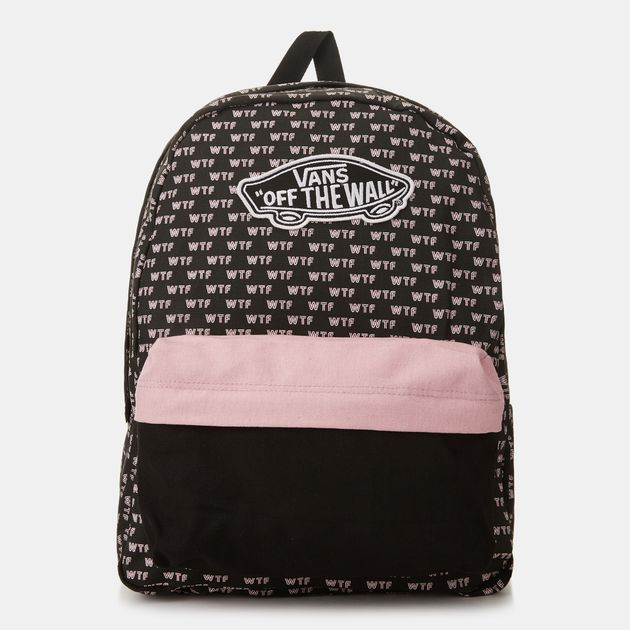 26a2c514cd Vans Realm Backpack - Black