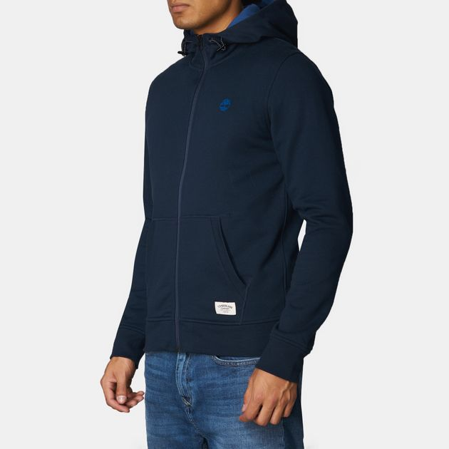 4fcf363298fe Shop Blue Timberland Westfield River Full Zip Hoodie for Mens by ...