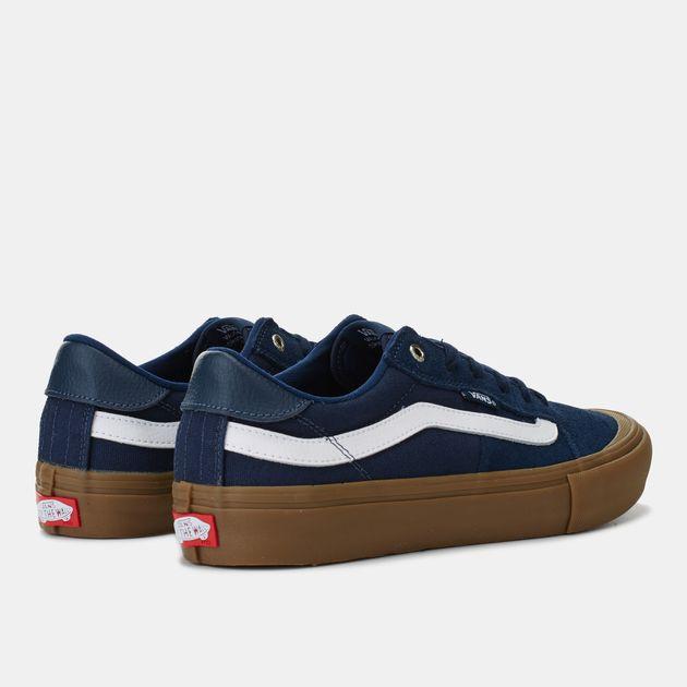2513ab7a7d Shop Blue Vans Style 112 Pro Skate Shoe for Mens by Vans