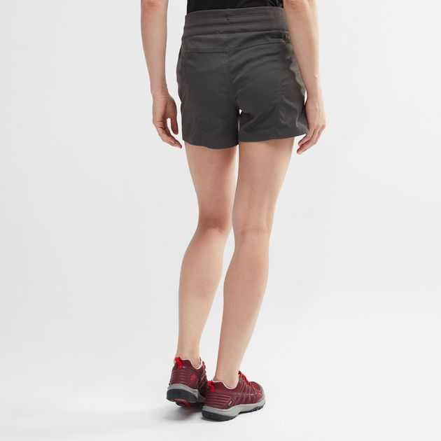 94041c3a4 Shop Grey The North Face Aphrodite 2.0 Shorts for Womens by The ...