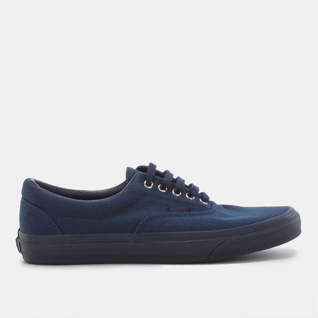 Shop Blue Vans Gold Mono Era Shoe for Mens by Vans  16d6b8a46