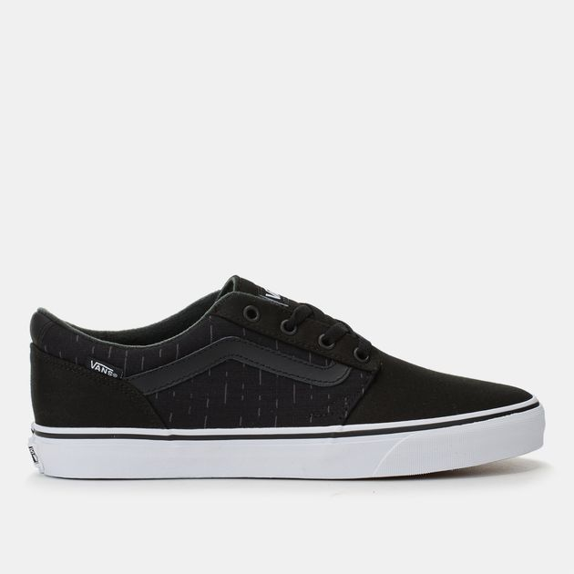 d2989cc4cf0d Shop Black Vans Chapman Stripe Skate Shoe for Mens by Vans - 7