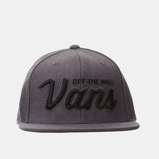 ef9d87a2051 Vans Wilmington Snapback Cap - Grey