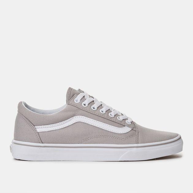 2539a38ee36 Shop Grey Vans Old Skool Sneaker Shoe for Unisex by Vans