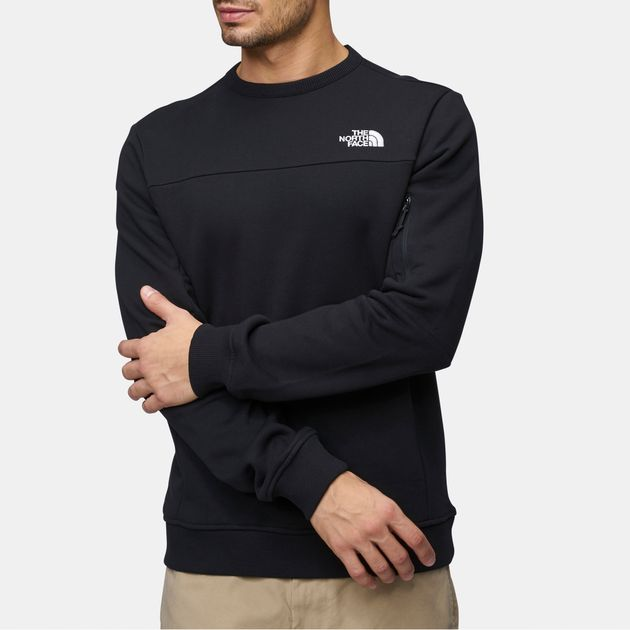 9e8b0c57e Shop Black The North Face Z-Pocket Sweatshirt for Mens by The North ...