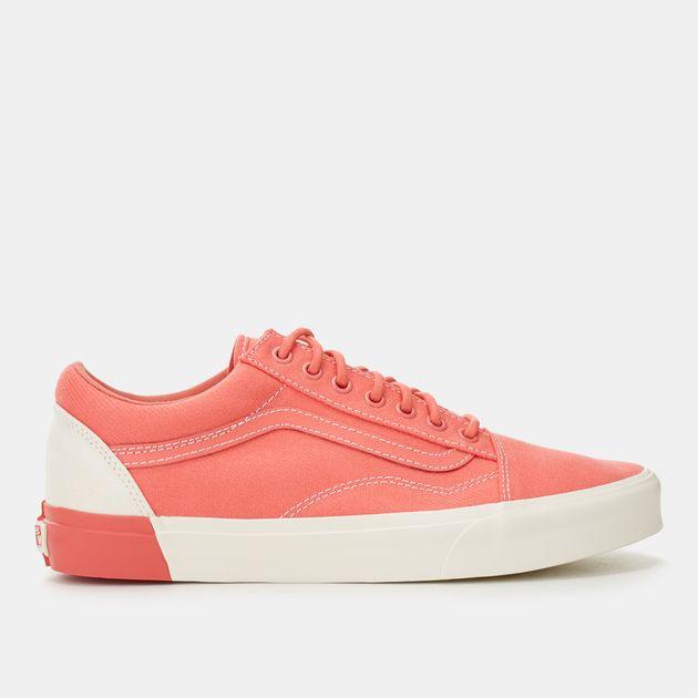 e52b5433636 Shop Pink Vans Blocked Old Skool DX Shoe for Unisex by Vans