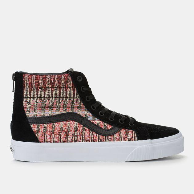 5a1c2b4089 Vans Woven SK8-Hi Reissue Zip DX Skate Shoe