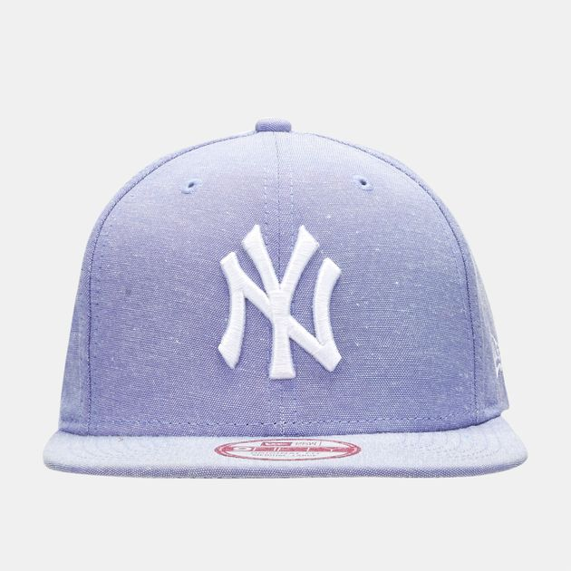 fa30eb7f2dd9f Shop Blue New Era MLB Oxford Lights New York Yankees 9FIFTY Snapback ...