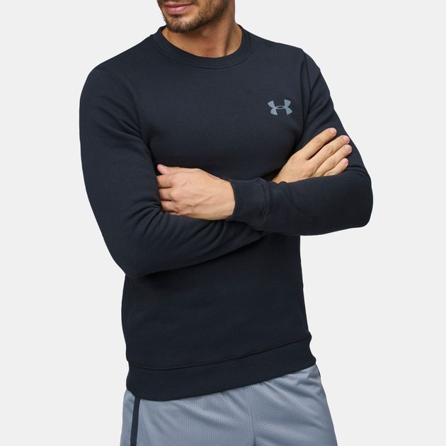 0d47416f3 Under Armour Rival Solid Fitted Long Sleeved T-Shirt   Sweatshirts ...