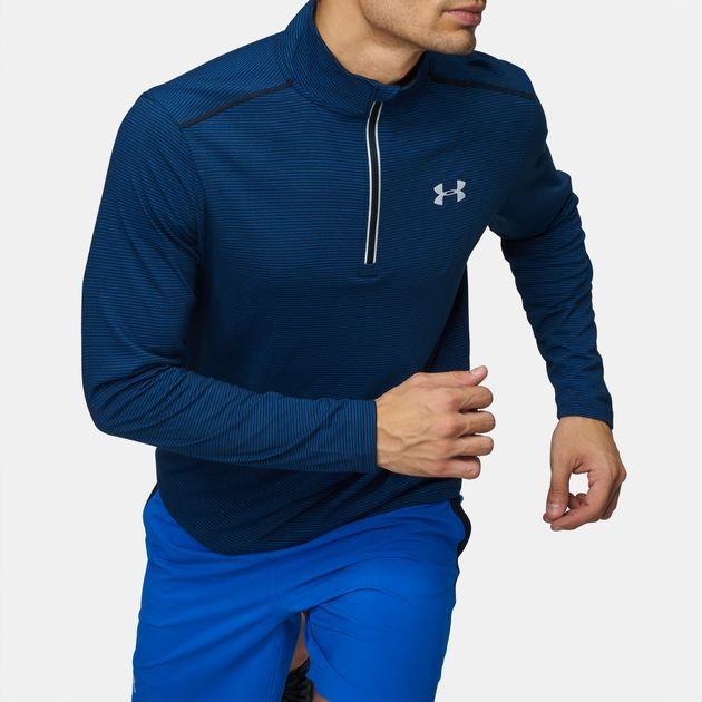 03321ce5 Under Armour Threadborne Streaker 1/4 Zip Long Sleeve T-Shirt, 830740