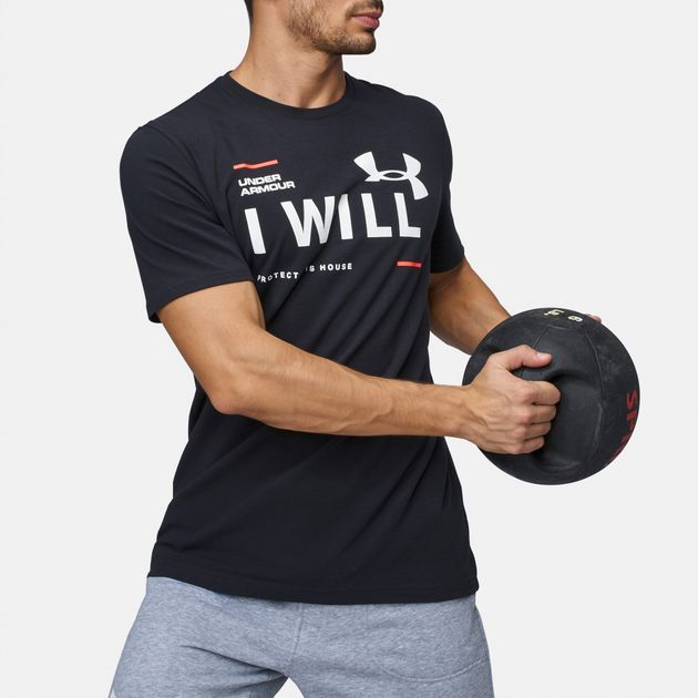 ec115025 Shop Black Shop 41 Under Armour I Will T-Shirt for Mens by Under ...