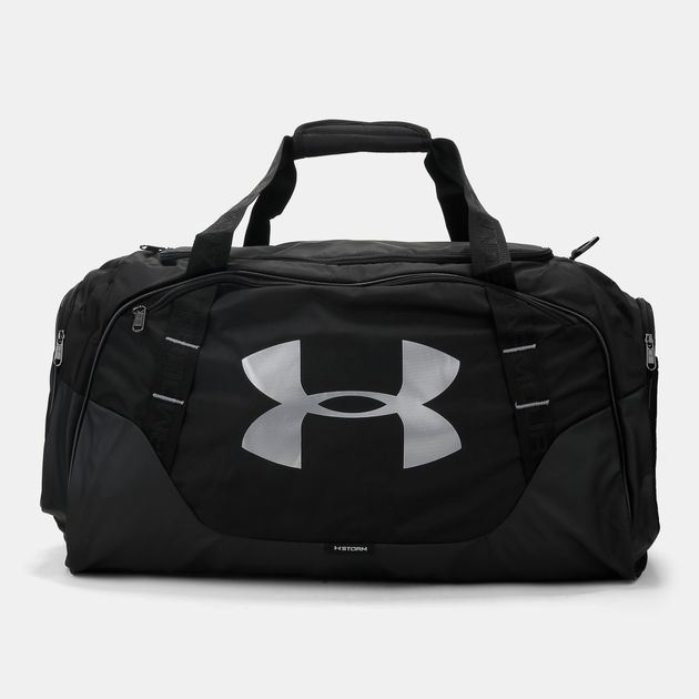 Shop Black Under Armour Undeniable 3.0 Large Duffle Bag for Unisex ... cf4b0b78218ea