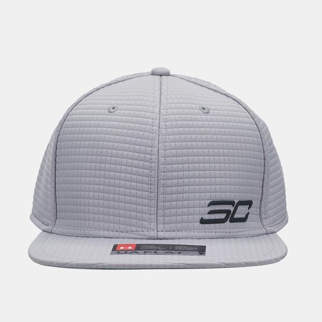 0c4f47b125f Shop Grey Under Armour SC30 Snapback Crew Cap for Mens by Under ...