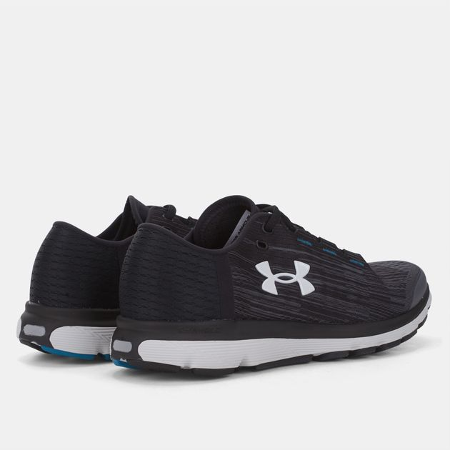new product 929ef 6e49b Shop Grey Under Armour SpeedForm Velociti Graphic Shoe for ...