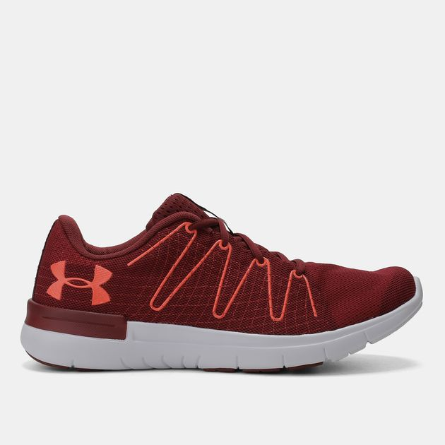 detailed pictures 5e1fa 472a6 Shop Red Under Armour Thrill 3 Shoe for Mens by Under Armour ...