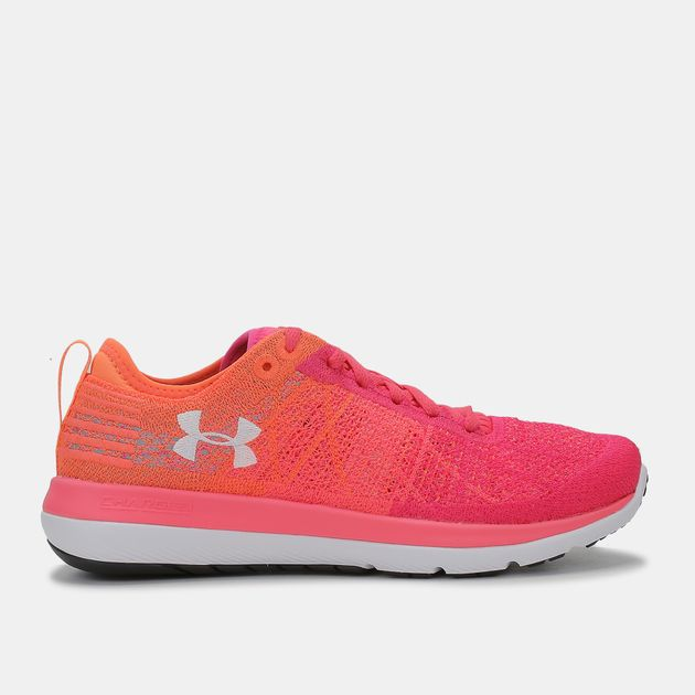 new concept 3401d 12b55 Shop Pink Under Armour Threadborne Fortis 3 Shoe for Womens ...