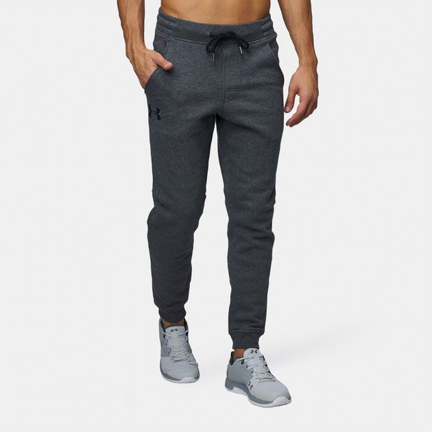 4ec776bdc Shop Under Armour Rival Fitted Tapered Jogger Pants Uaap 1309818 090 ...