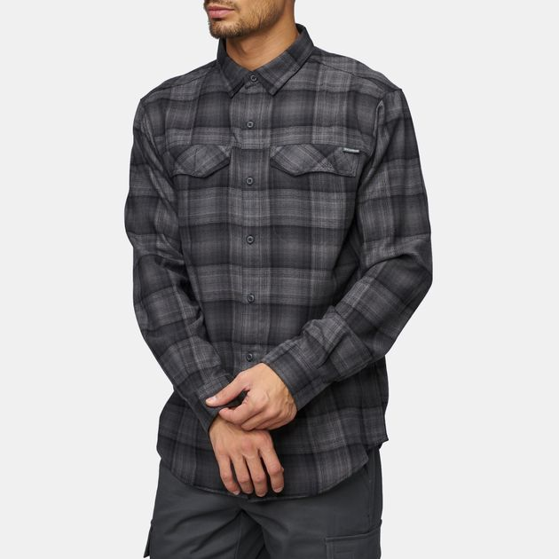 85991f0fb5c Shop Black Columbia Silver Ridge™ Flannel Shirt for Mens by Columbia ...