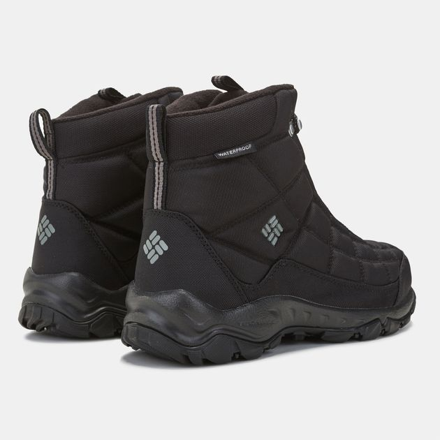 0c82ece70bf Shop Black Columbia Firecamp Hiking Boot for Mens by Columbia | SSS