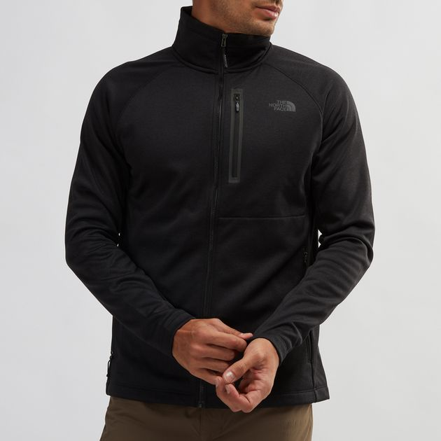 e5b56a88c Shop Black Shop Black The North Face Canyonlands Full Zip Hoodie ...