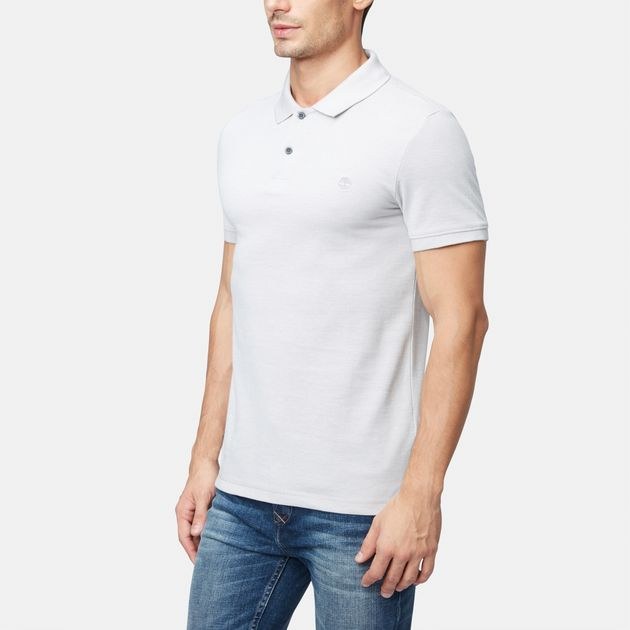 6f1de3fc Shop Timberland Millers River Oxford Polo T Shirt Tmap A1Inw 051 ...