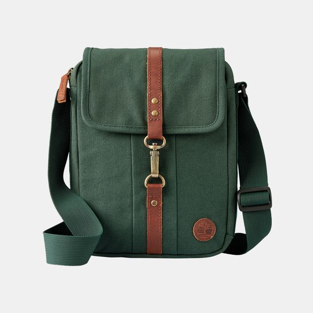 2170225af837 Shop Green Timberland Walnut Hill Small Items Bag for Unisex by ...