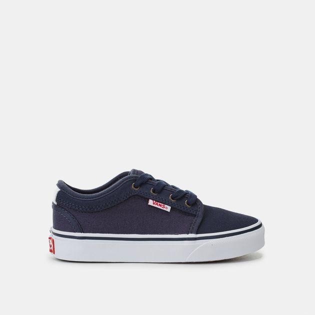 Vans Kids  Chukka Low Top Skate Shoe  96429b65b