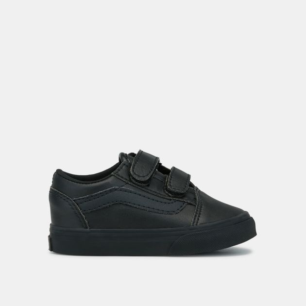 Shop Black Vans Kids  Toddler Classic Tumble Old Skool V Shoe ... f38cac260