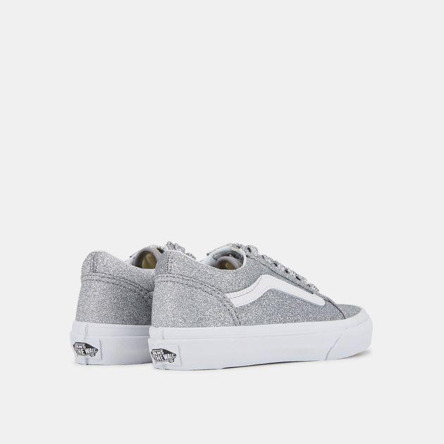 a413aabdae67 Vans Kids' Lurex Glitter Old Skool Shoe | Sneakers | Shoes | Kids ...