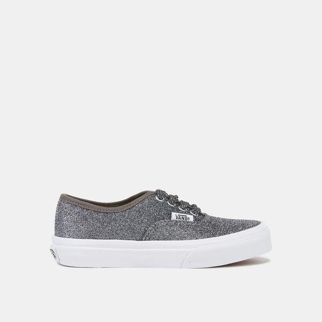0eac86064c Shop Multi Vans Kids  Lurex Glitter Authentic Shoe