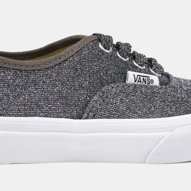 d96120fbdc1f Shop Multi Vans Kids  Lurex Glitter Authentic Shoe