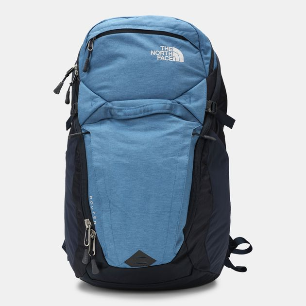 970a4b862b32 Shop Blue The North Face Router Backpack