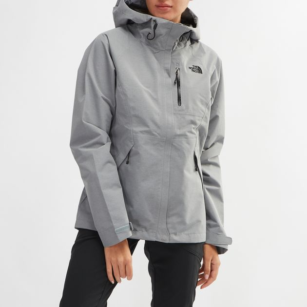 3779e360d Shop Grey The North Face Dryzzle Jacket for Womens by The North Face ...