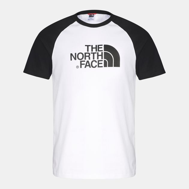 Shop White The North Face Raglan Easy T-Shirt for Mens by The North ... bc687ff16