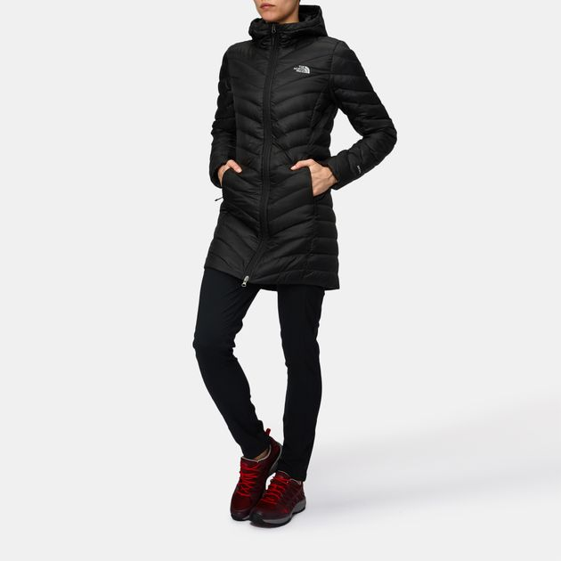 0de4b3014304 Shop Black The North Face Trevail Parka Jacket for Womens by The ...