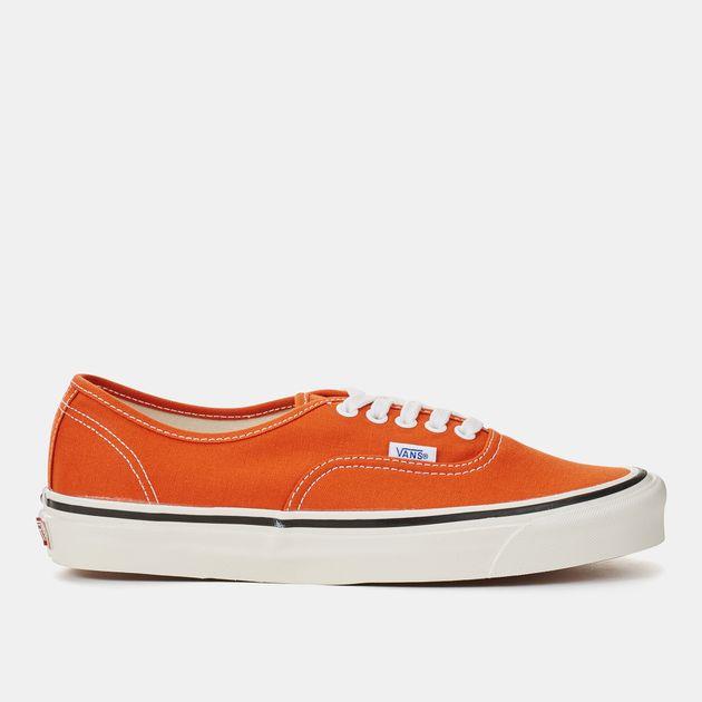 Shop Orange Vans Anaheim Factory Authentic 44 DX Shoe for Womens by ... 4e8bcd3278