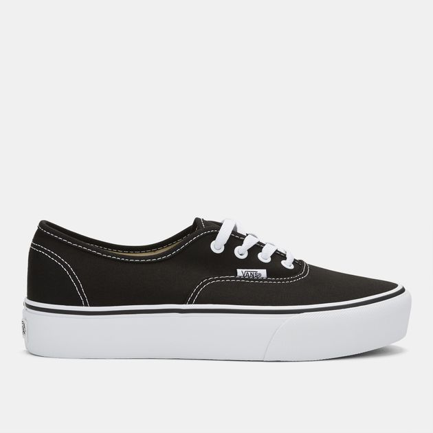 901c20fe687 Shop Black Vans Authentic Platform 2.0 Shoe for Womens by Vans