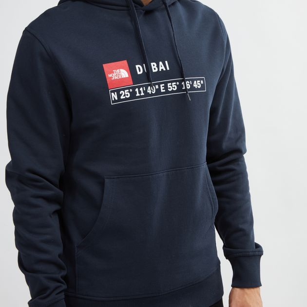 81487ea59 Blue The North Face GPS Dubai Hoodie | Hoodies | Hoodies and ...