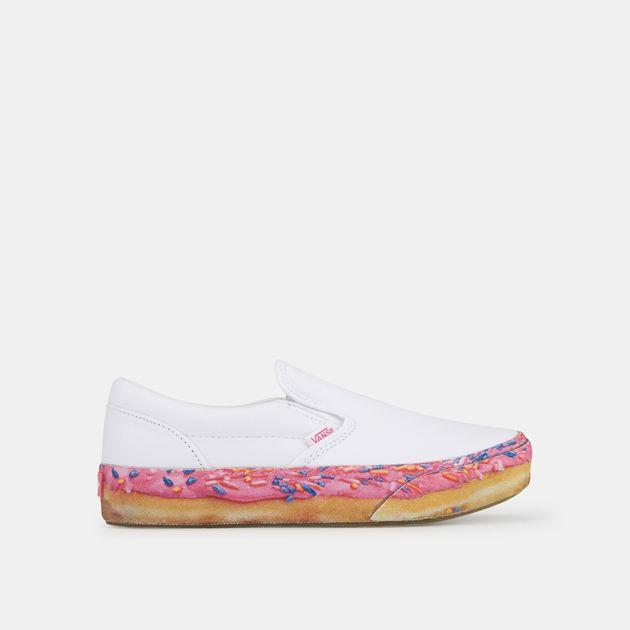 1e60609f0e3e47 Vans Kids  Donut Slip-On Platform Shoe