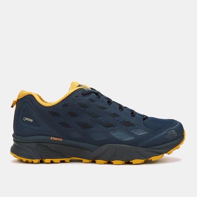 Shop Blue The North Face Endurus Hike GORE-TEX Hiking Shoe for Mens ... 5e8c0d4949d