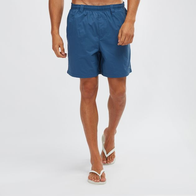 ab3bab9b48 Shop Blue Columbia PFG Backcast III Water Shorts for Mens by ...