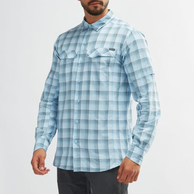 9e002dd72bd Columbia Silver Ridge Plaid Long Sleeve Shirt | Shirts | Tops ...