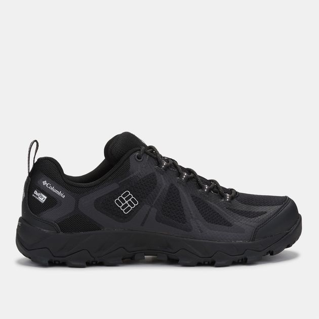 4ff90b1341 Shop Black Columbia PeakFreak™ XCRSN II XCEL Mid OutDry™ Trail Shoe ...