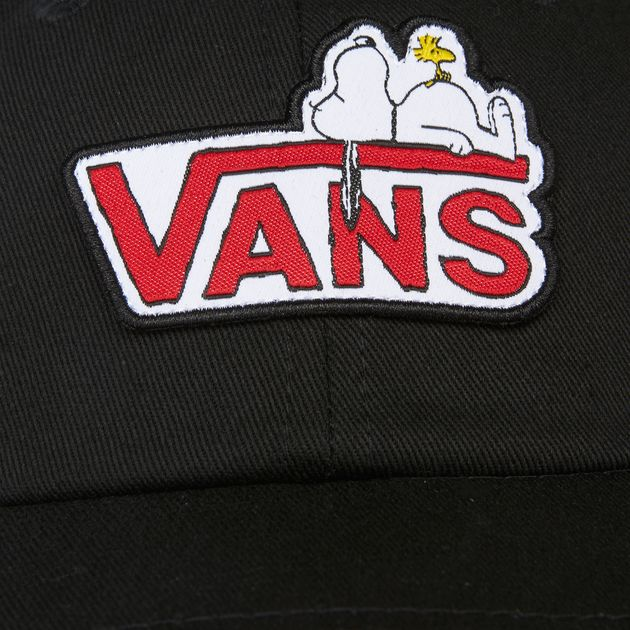889074069b3 Vans Peanuts Court Side Baseball Cap - Black